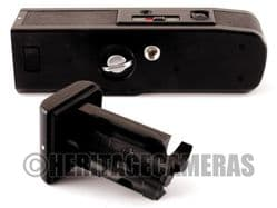 Minolta Auto Winder D for XD XD5 XD7 XD11 XD-5 XD-7 XD-11, with Case, Batteries, copy Instructions